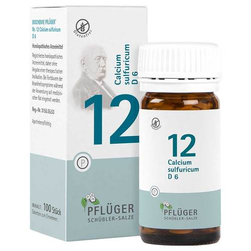 Biochemie Pflüger 12 Calcium sulfuricum D 6 Tabletten - 1