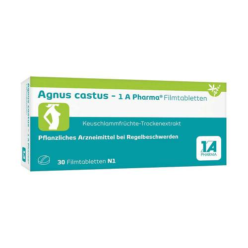 agnus castus 1a pharma filmtabletten bei aponeo kaufen. Black Bedroom Furniture Sets. Home Design Ideas