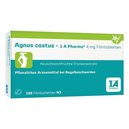 Agnus castus 1A Pharma Filmtabletten - 1