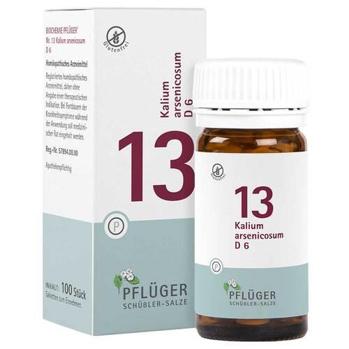 Biochemie Pflüger 13 Kalium arsenic.D 6 Tabletten - 1