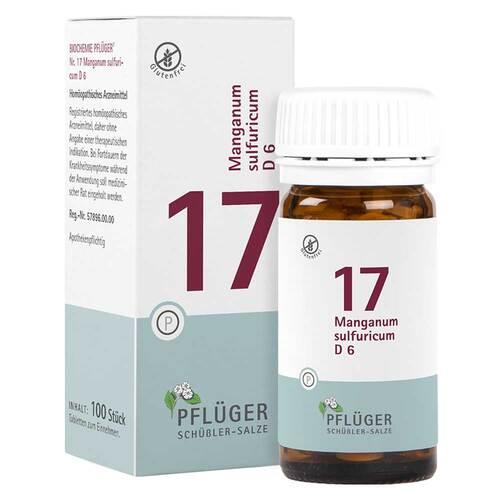 Biochemie Pflüger 17 Manganum sulfuricum D 6 Tabletten - 1