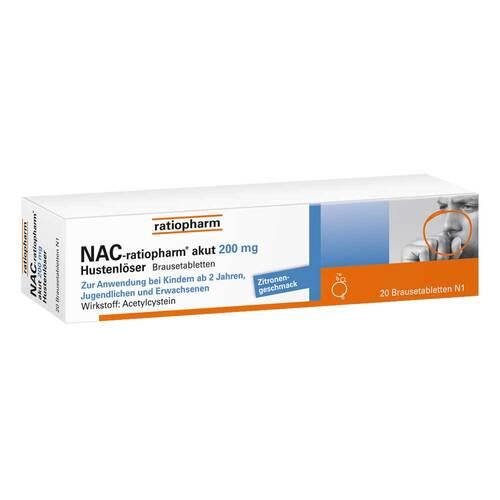 NAC ratiopharm akut 200 mg Hustenlöser Brausetabletten - 1
