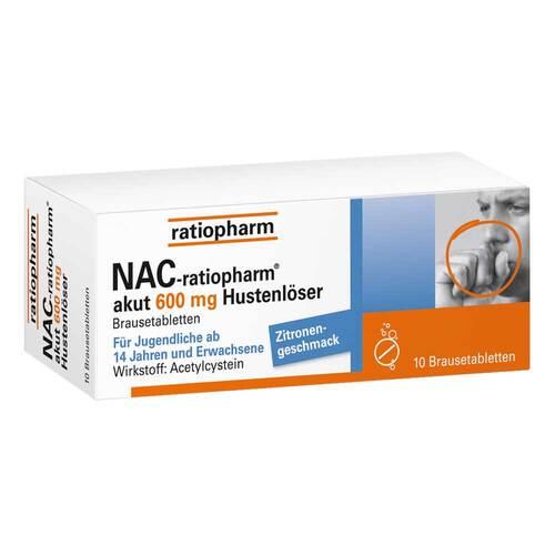 NAC ratiopharm akut 600 mg Hustenlöser Brausetabletten - 1
