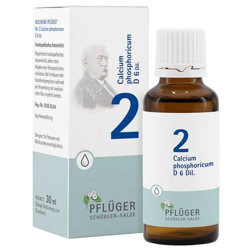 Biochemie Pflüger 2 Calcium phosphoricum D 6 Tropfen - 1