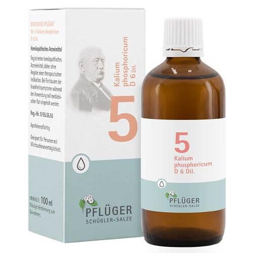 Biochemie Pflüger 5 Kalium phosphoricum D 6 Tropfen - 1