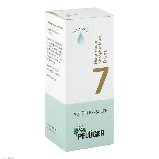 Biochemie Pflüger 7 Magnesium phosphoricum D 6 Tropfen - 1