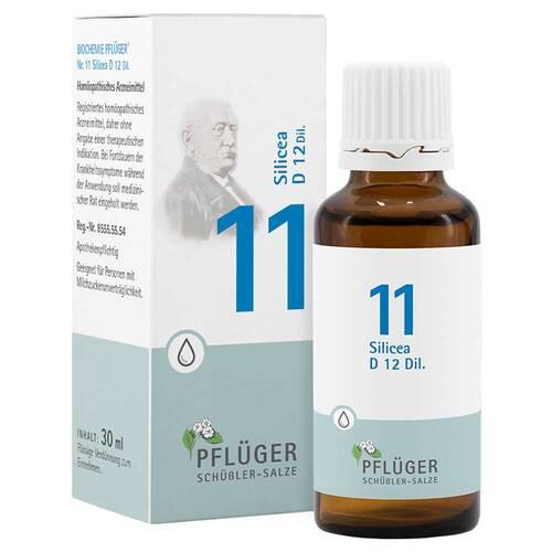 Biochemie Pflüger 11 Silicea D 12 Tropfen - 1