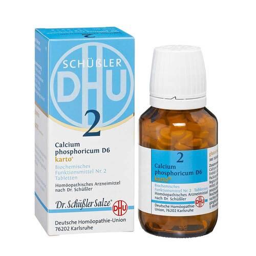 Biochemie DHU 2 Calcium phosphoricum D 6 Karto Tabletten - 1