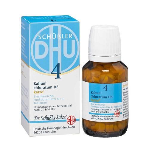 Biochemie DHU 4 Kalium chloratum D 6 Karto Tabletten - 1