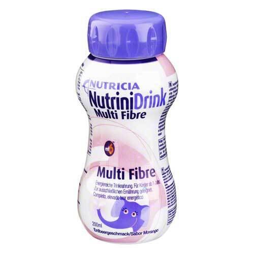 Nutrini Drink Multi Fibre Erdbeergeschmack - 1