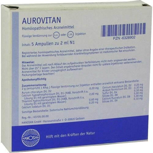 Aurovitan Ampullen Injektionslösung - 1