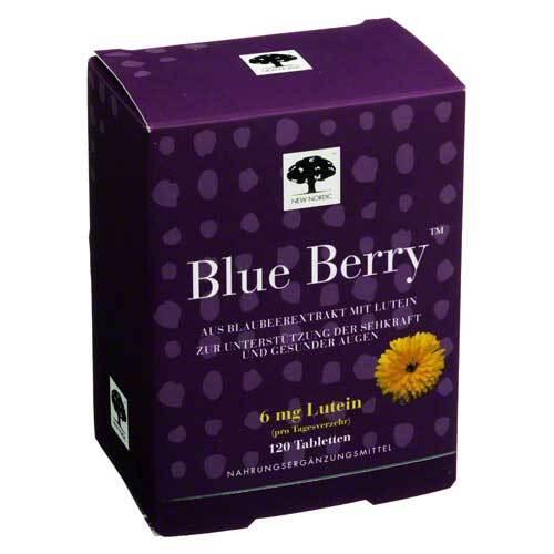 Blue Berry Tabletten - 1