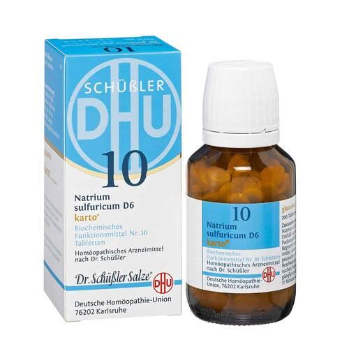 Biochemie DHU 10 Natrium sulfuricum D 6 Karto Tabletten - 1