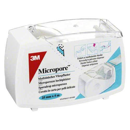 Micropore Vliespflaster 5 mx2,5 cm mit Abr.1530 - 1D - 1