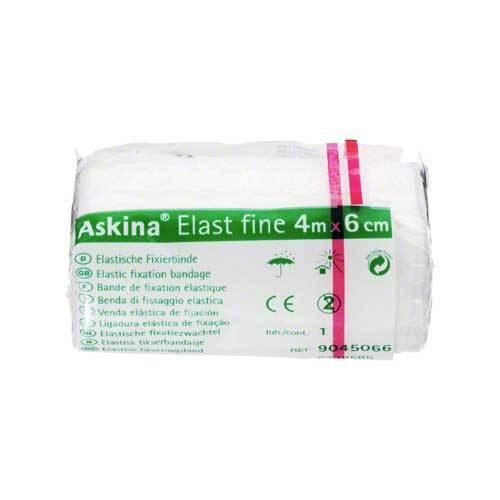 Askina Elast Fine Binde 4mx6cm cellophaniert - 1