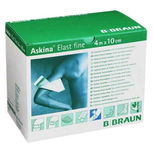 Askina Elast Fine Binde 4mx1 - 1