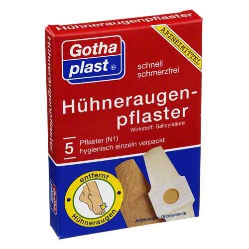 Gothaplast Cornmed Hühneraugenpflaster 2x6cm - 1