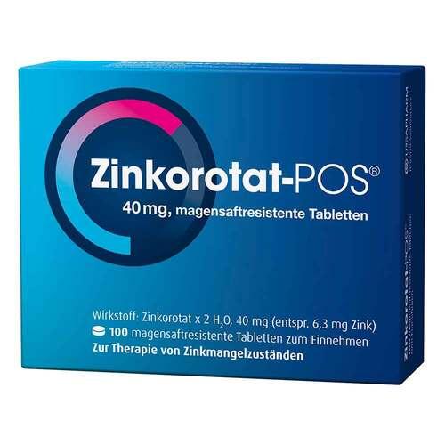 Zinkorotat POS magensaftresistente Tabletten - 1