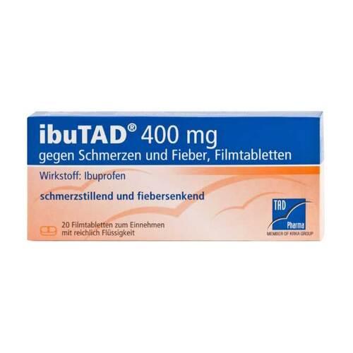 Ibutad 400 mg gegen Schmerzen und Fieber Filmtabletten - 1