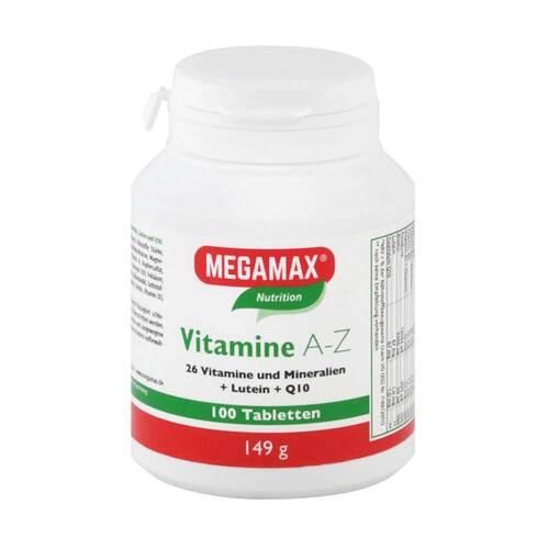 Megamax Vitamine A-Z + Q10 + Lutein Tabletten - 1