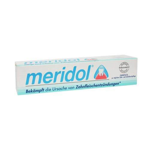 Meridol Zahnpasta mit Faltschachtel - 1