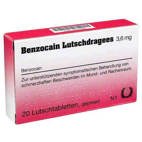 Benzocain Lutschdragees - 1