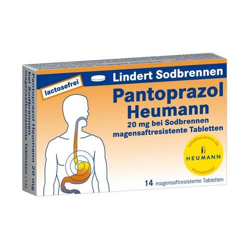 Pantoprazol Heumann 20 mg b.Sodbrennen magensaftresistent Tabletten - 1