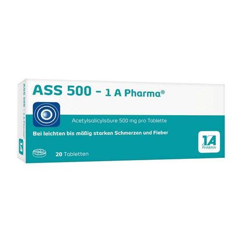 ASS 500 1A Pharma Tabletten - 1
