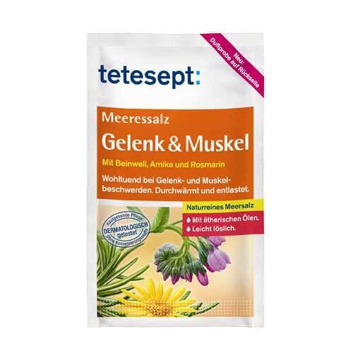 Tetesept Meeressalz Gelenk + Muskel - 1