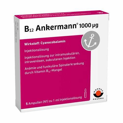 B12 Ankermann 1000 µg Ampullen - 1