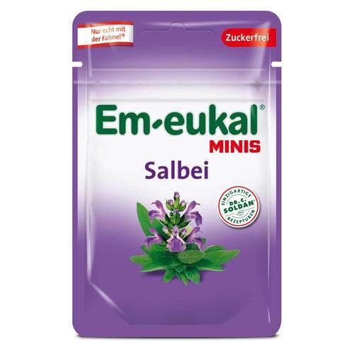 EM Eukal Minis Bonbons Salbei zuckerfrei - 1
