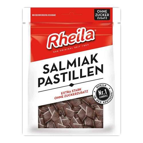Rheila Salmiak Pastillen zuckerfrei - 1