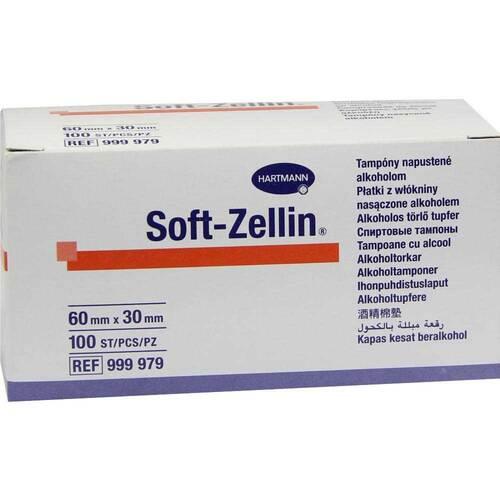 Soft Zellin Alkohol Tupfer 30x60 mm - 1