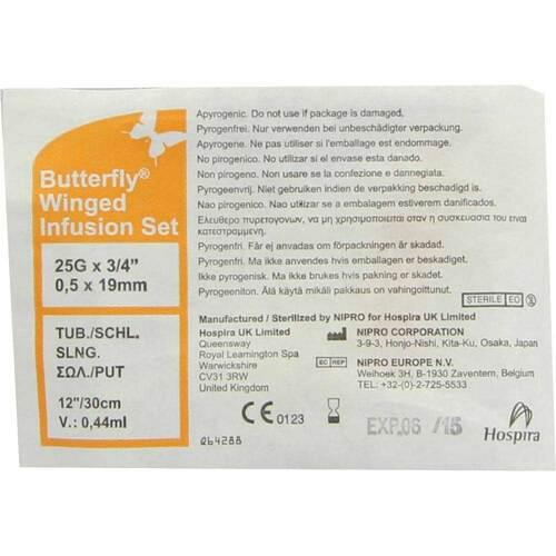 Infusionszubehör Butterfly 25 G orange - 1