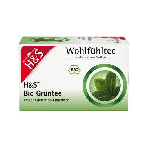 H&S Bio Grüntee Filterbeutel - 1