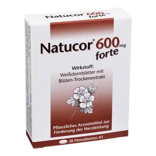 Natucor 600 mg forte Filmtabletten - 1