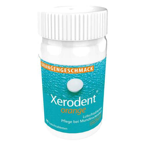 Xerodent Orange Lutschtabletten - 1