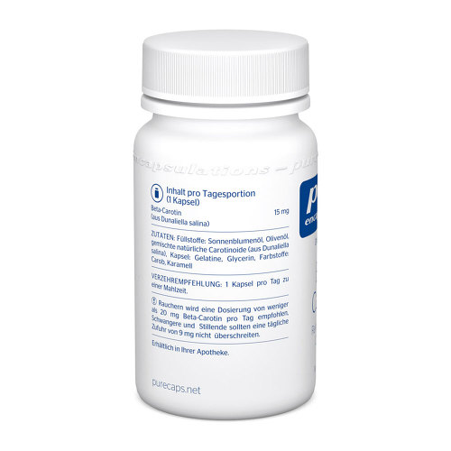 Pure Encapsulations Beta Carotin Kapseln - 3