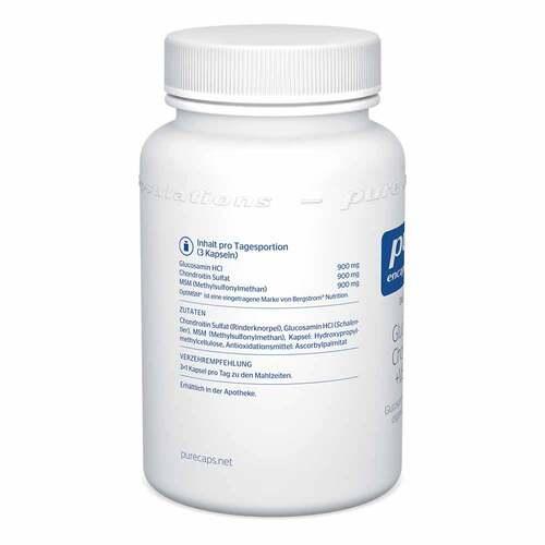 Pure Encapsulations Glucosamin+Chondroitin+MSM Kapseln - 3