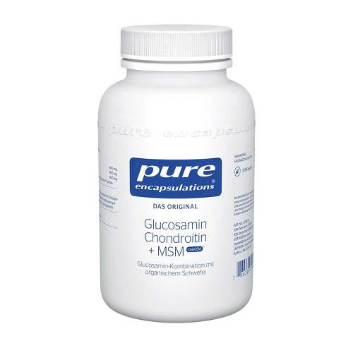 Pure Encapsulations Glucosamin+Chondroitin+MSM Kapseln - 1