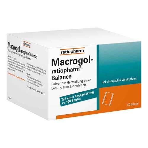 Macrogol ratiopharm Balance Pulver zur H.e.Lösung zum Einnehmen - 1