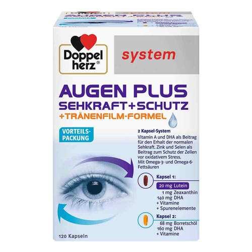 Doppelherz system Augen plus Sehkraft+Schutz Kapseln - 1