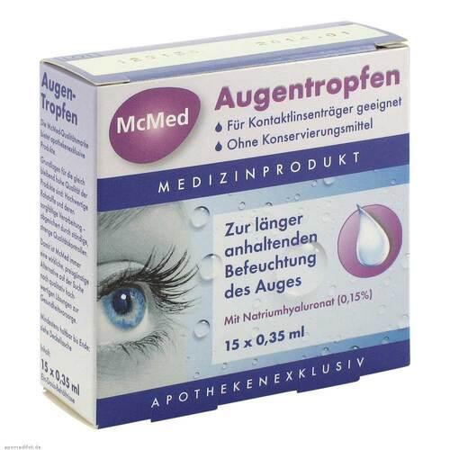 Mcmed Augentropfen Einzeldosispipetten - 1