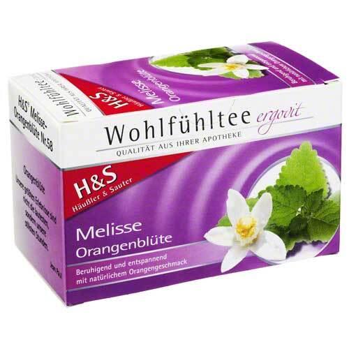 H&S Melisse Orangenblüte Filterbeutel - 2