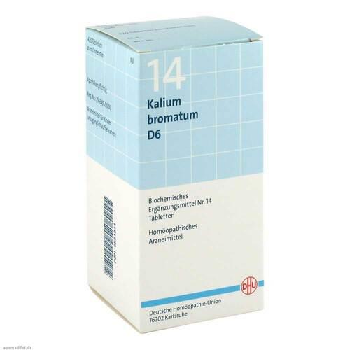 Biochemie DHU 14 Kalium bromatum D 6 Tabletten - 1