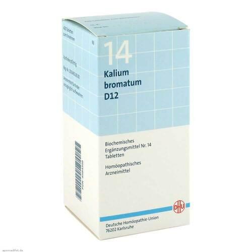 Biochemie DHU 14 Kalium bromatum D 12 Tabletten - 1