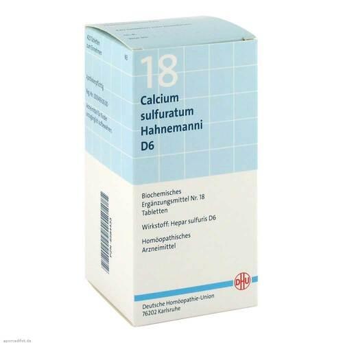 Biochemie DHU 18 Calcium sulfuratum D 6 Tabletten - 1