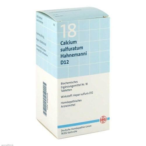 Biochemie DHU 18 Calcium sulfuratum D 12 Tabletten - 1