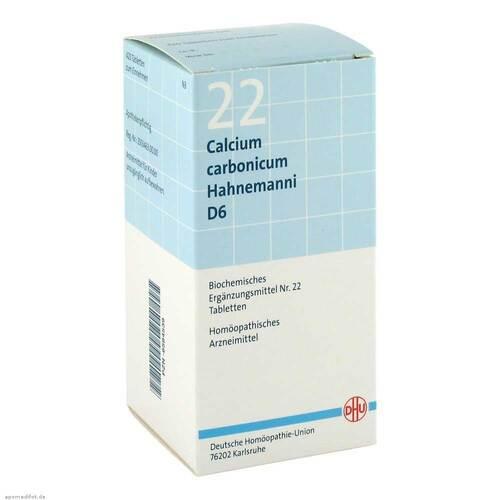 Biochemie DHU 22 Calcium carbonicum D 6 Tabletten - 1