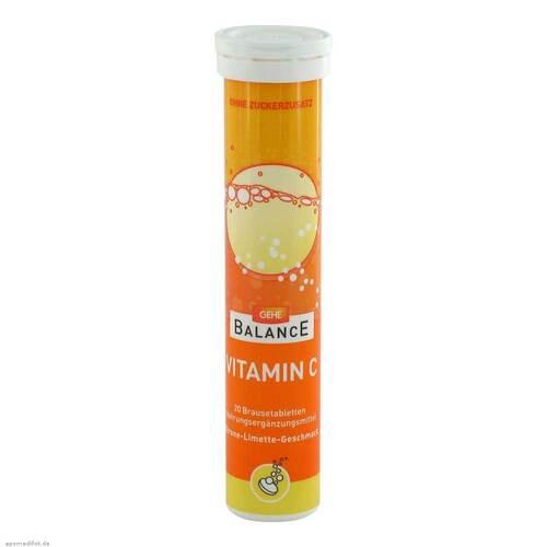 Gehe Balance Vitamin C Brausetabletten - 1